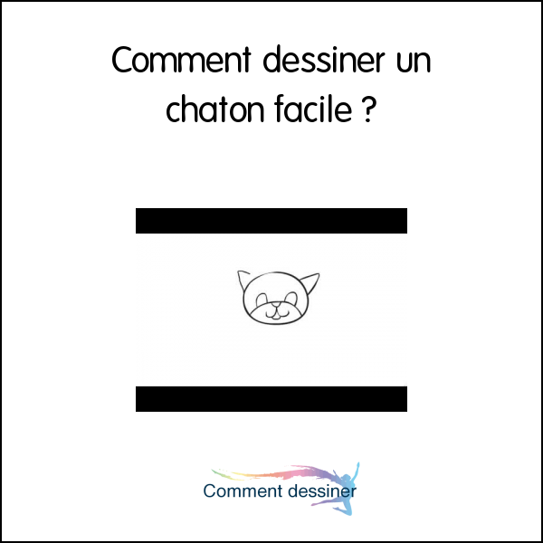 Dessin de chaton facile - Comment dessiner un lynx ...