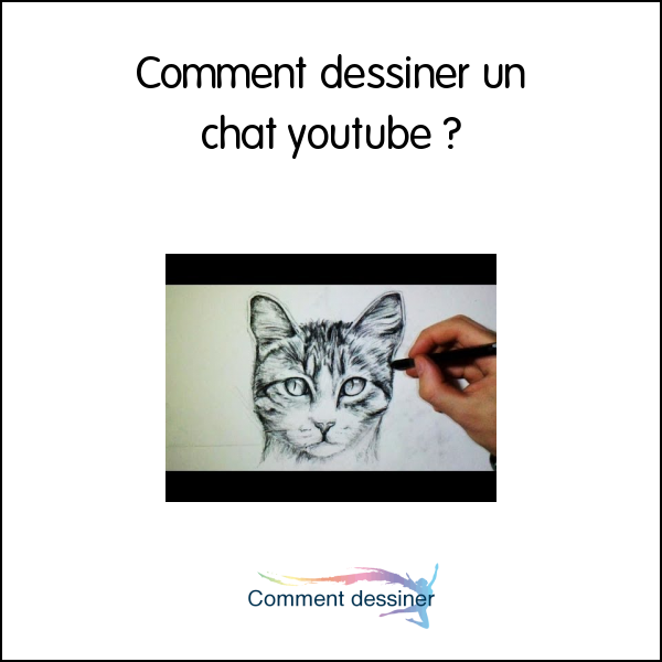 Comment dessiner un chat youtube